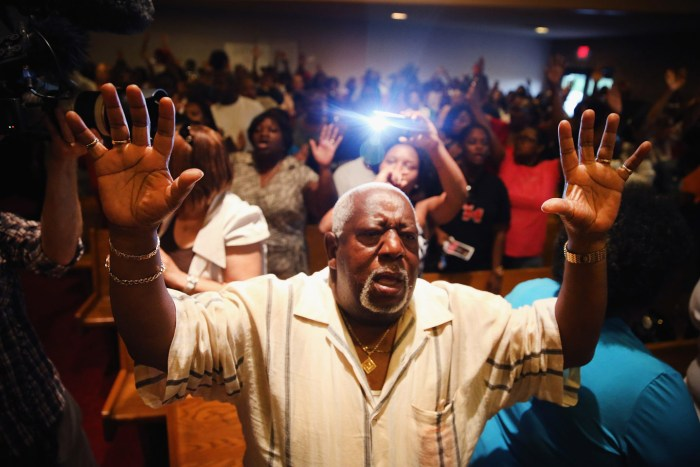 Greater St. Mark Missionary Baptist Church, Ferguson, Missouri. Photo: Scott Olsen
