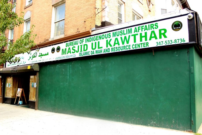 Masjid Ul Kawthar. Photo: Pauline Dolle/A Journey through NYC religions
