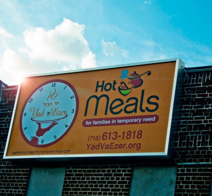 We visited several Jewish groups that give a helping hand to people in need of food or meals. Photo: Tony Carnes/A Journey through NYC religions