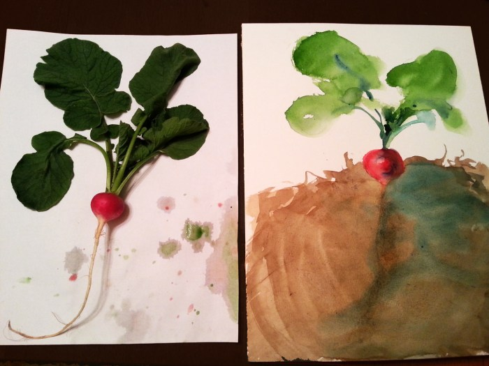 The Garden Radish by Darilyn Carnes