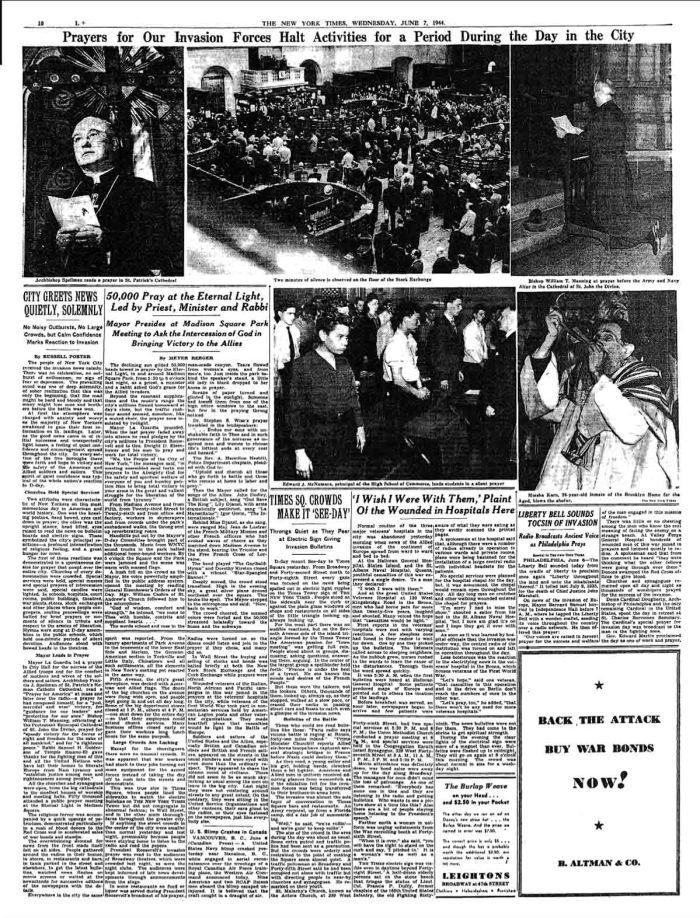 NYT June7 1944