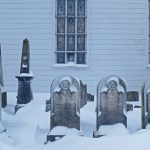 Graveyard, Newtown Reformed Church, Elmhurst, Queens. Photo: Tony Carnes/A Journey through NYC religions