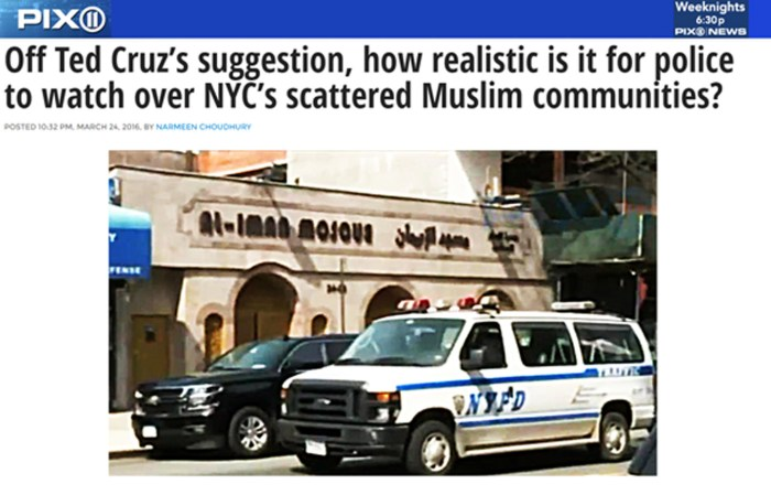 How realistic is Ted Cruz's surveillance program for NYC Muslims?