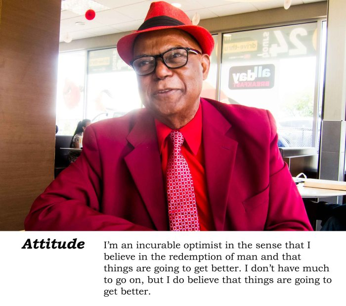 The Deloatch attitude: incurable optimist