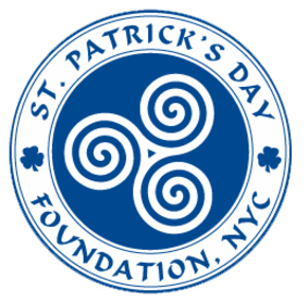 image: logo of St. Patrick's Day Foundation, NYC