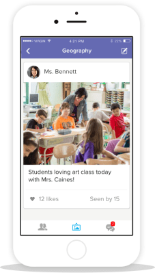 "Class Dojo lets teachers communicate with parents in a safe and fun way through their new feature called Class Story. It's the new ""instagram for the classroom"" Check it out by clicking the link here"