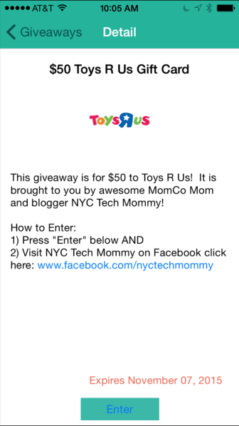 Get your holiday shopping on its way with this $50 Toys R Us Gift Card Giveaway http://wp.me/p5Jjr7-qH
