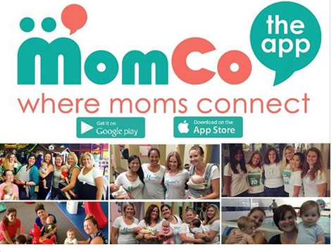 MomCo App is Where Moms Connect - Click the link to learn more -