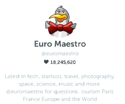 EuroMaestro on Periscope