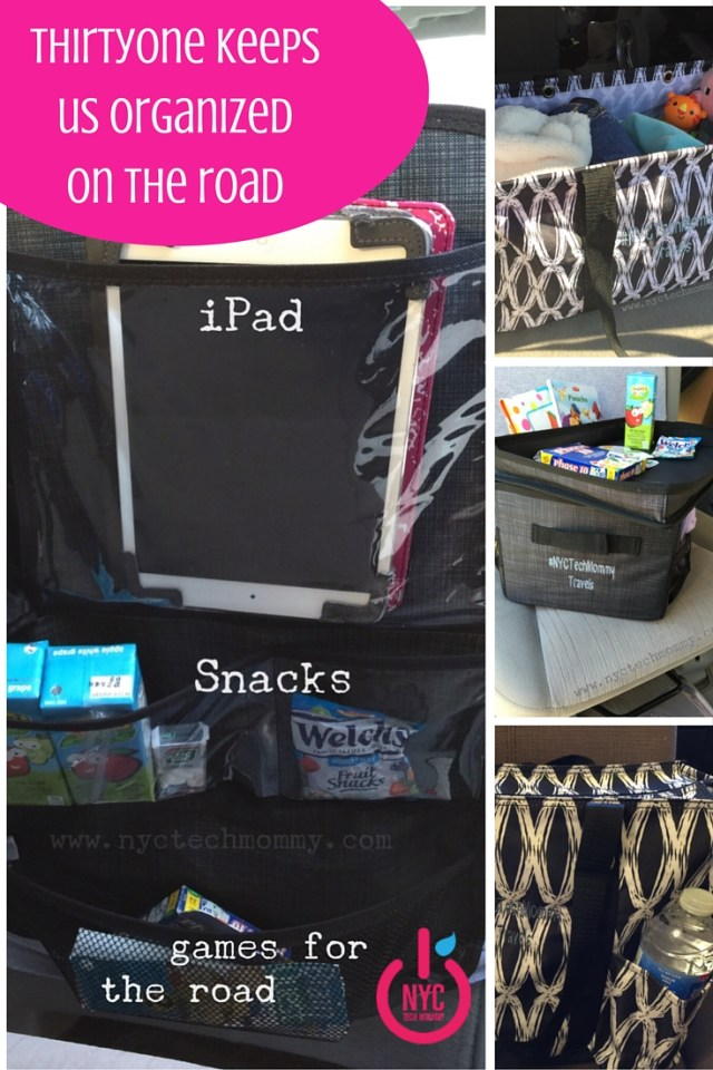 Get Your Car and Kids Organized with ThirtyOne Products - 3 Tips to Help You