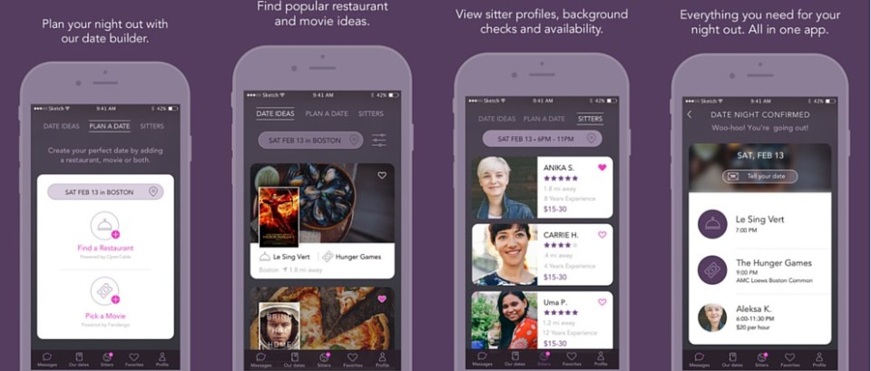Plan the perfect date night with this cool new app by Care.com - Date Night app