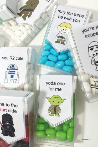 Star Wars Valentines Tic Tac
