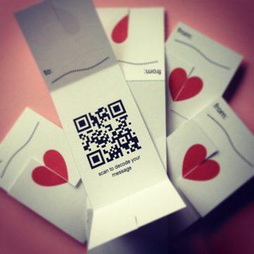 Barcode Valentines
