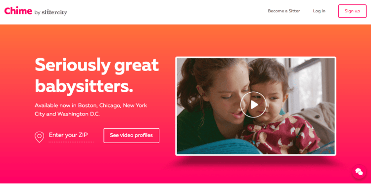 Find the Right Babysitter with Chime by Sittercity - NYC Tech Mommy