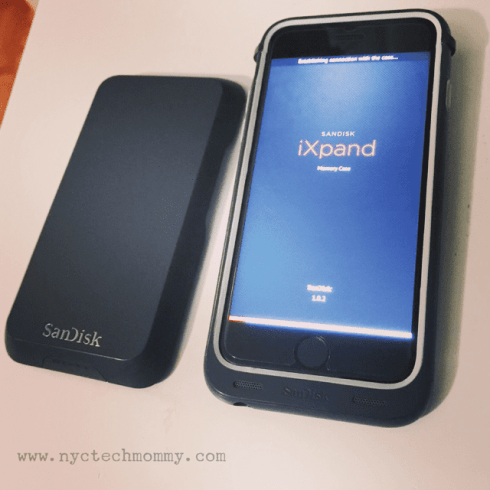 SanDisk iXpand Memory Case - simply the easiest way to upgrade your existing iPhone 6 or iPhone 6s with more memory for all the content you love, plus additional battery life! You need this!