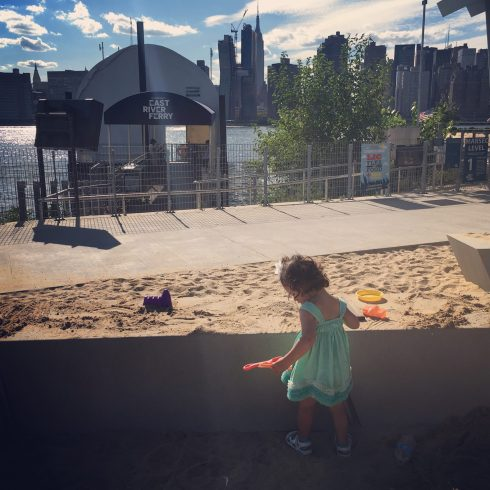 Long Island City, Queens NYC - Family FUN along the water's edge at Gantry Plaza and Hunter's Point South Park