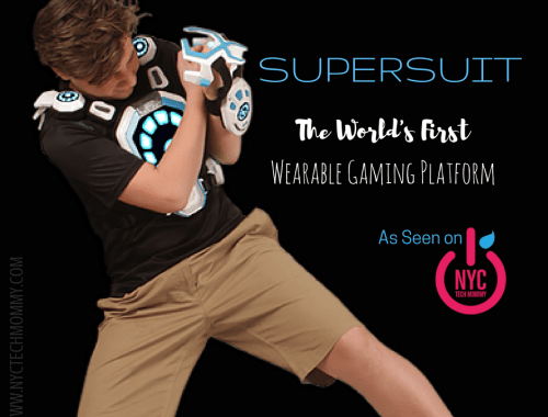 NEW SuperSuit, a wearable gaming platform that can reduce screen time while increasing social interaction and outdoor physical activities. Ready to see it?