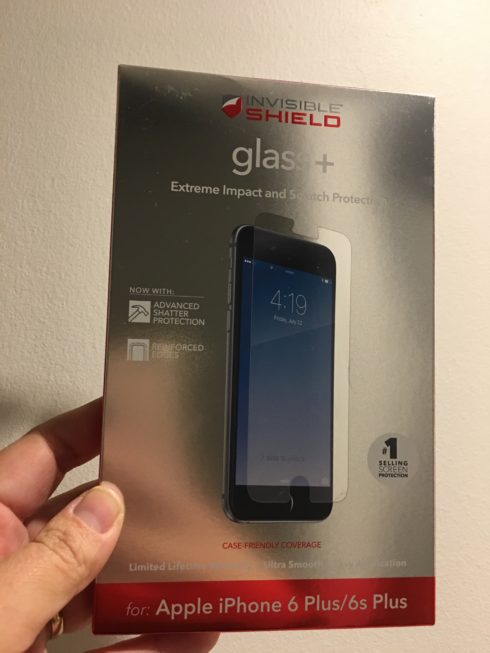 Protect your phone now with InvisibleShield Glass+. It protects like no other!