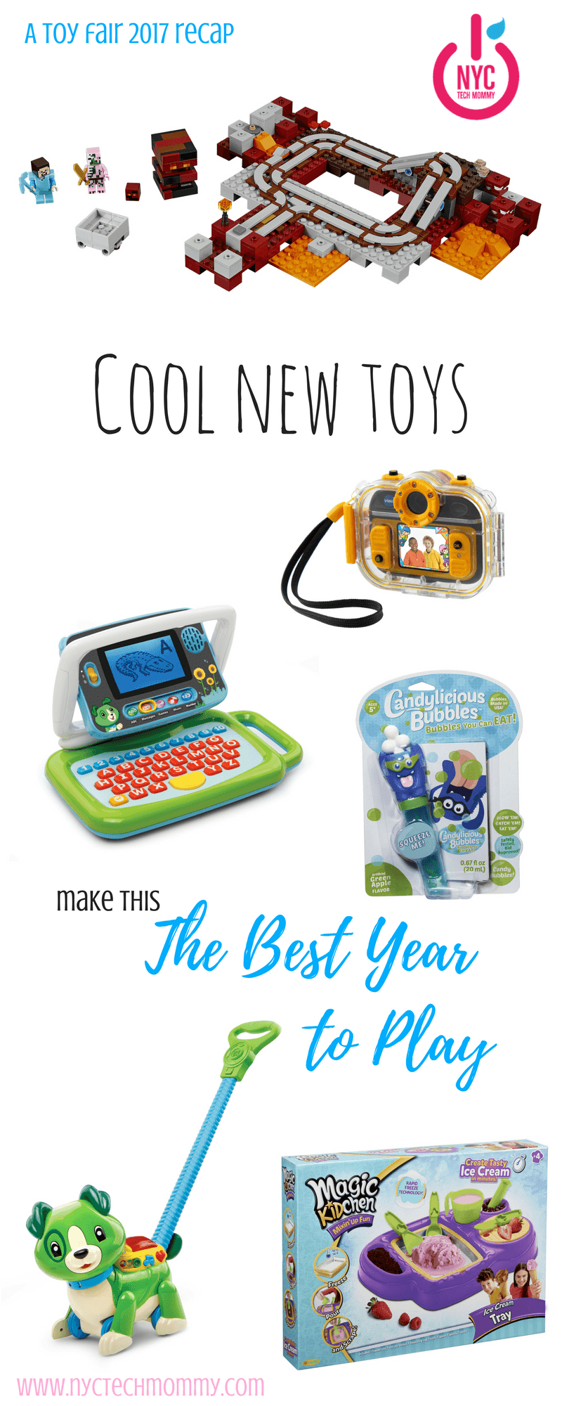 Want to know what toys your kids will be asking for this year? Toy Fair 2017 brought us the coolest new toys that will make this the best year to play! Check out which ones made my list!