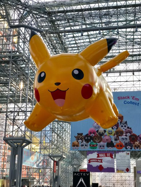 Pikachu at Toy Fair 2017 - Want to know what toys your kids will be asking for this year? Toy Fair 2017 brought us the coolest new toys that will make this the best year to play! Check out which ones made my list!