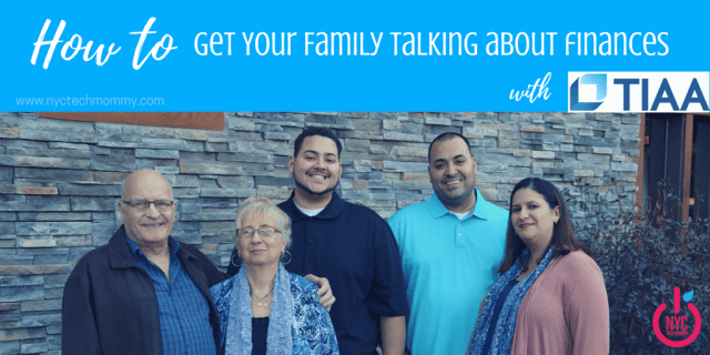How prepared is your family to talk about money? Here's 5 tips to get your family talking about finances #ad #FamilyMoneyMatters
