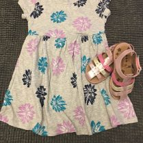 Step & Stride and Cotton Dress