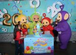 Celebrating 20 Years of BIG HUGS with Loveable Teletubbies