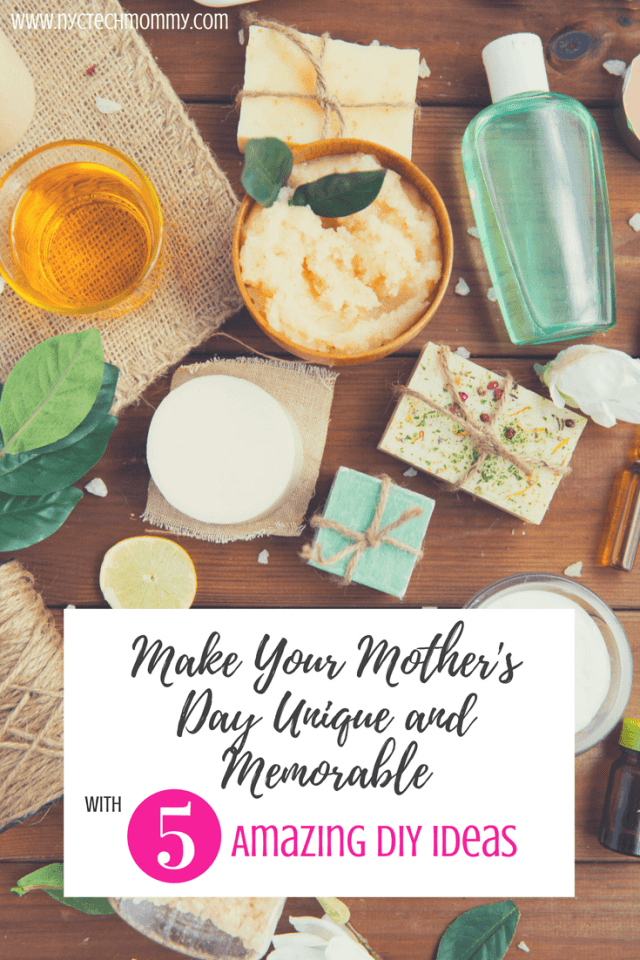 Still wondering what will make mom happy this Mother's Day? Why not make her day unique and memorable with these 5 amazing DIY ideas for moms!