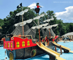 Taking the Kids to The Land of Make Believe and Pirates Cove