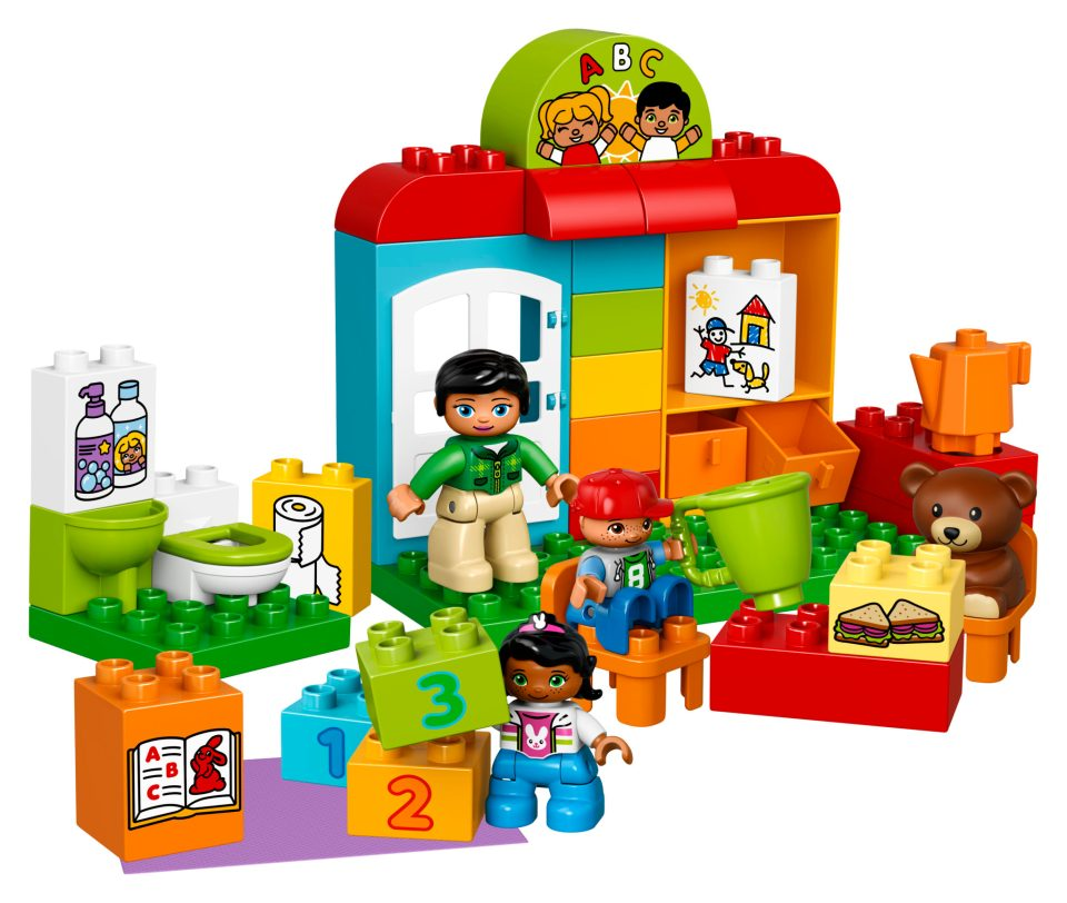 LEGO DUPLO My Town Preschool Set