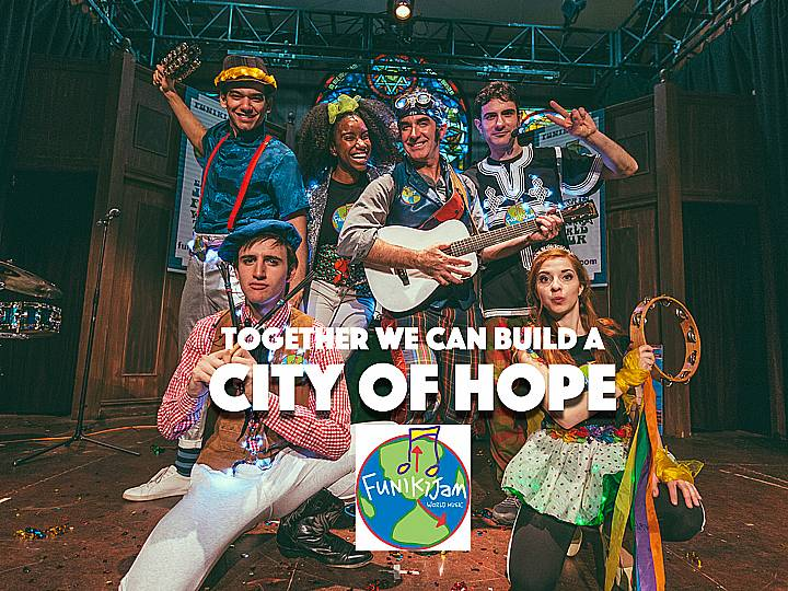 FunikiJam has created a winter show especially for kids and families that's being played OFF BROADWAY at the Actor's Temple. It's FUN for the entire family and you can save when you use this discount code to purchase tickets to see FunikiJam's City of Hope!