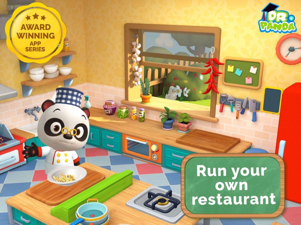 NEW Dr. Panda Restaurant 3 App