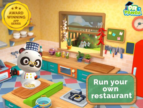 NEW Dr. Panda Restaurant 3 App