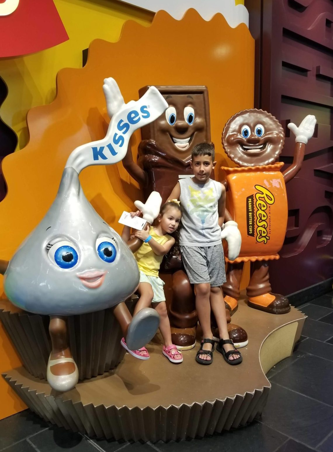 Chocolate World at Hershey Park