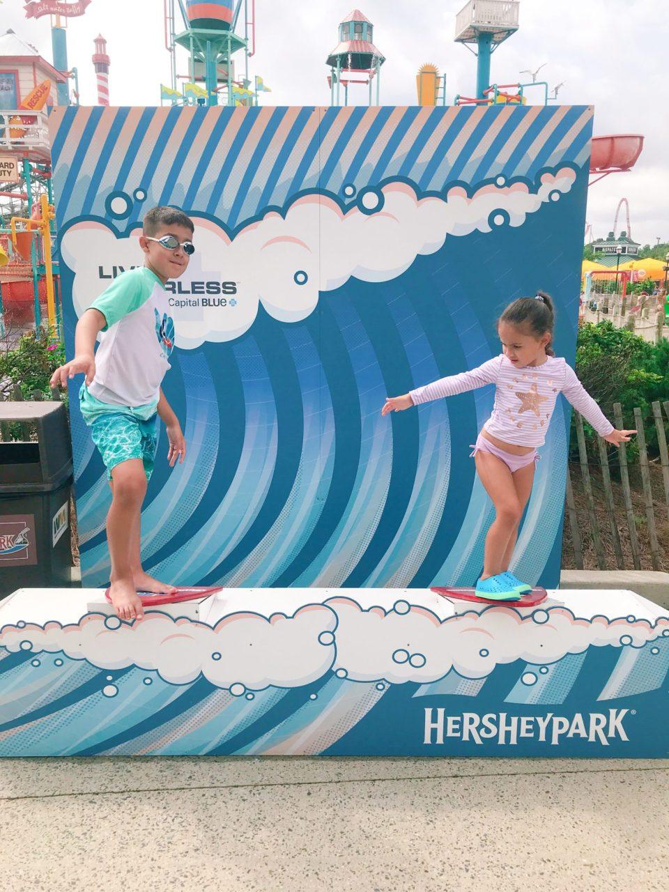 Boardwalk at Hershey Park