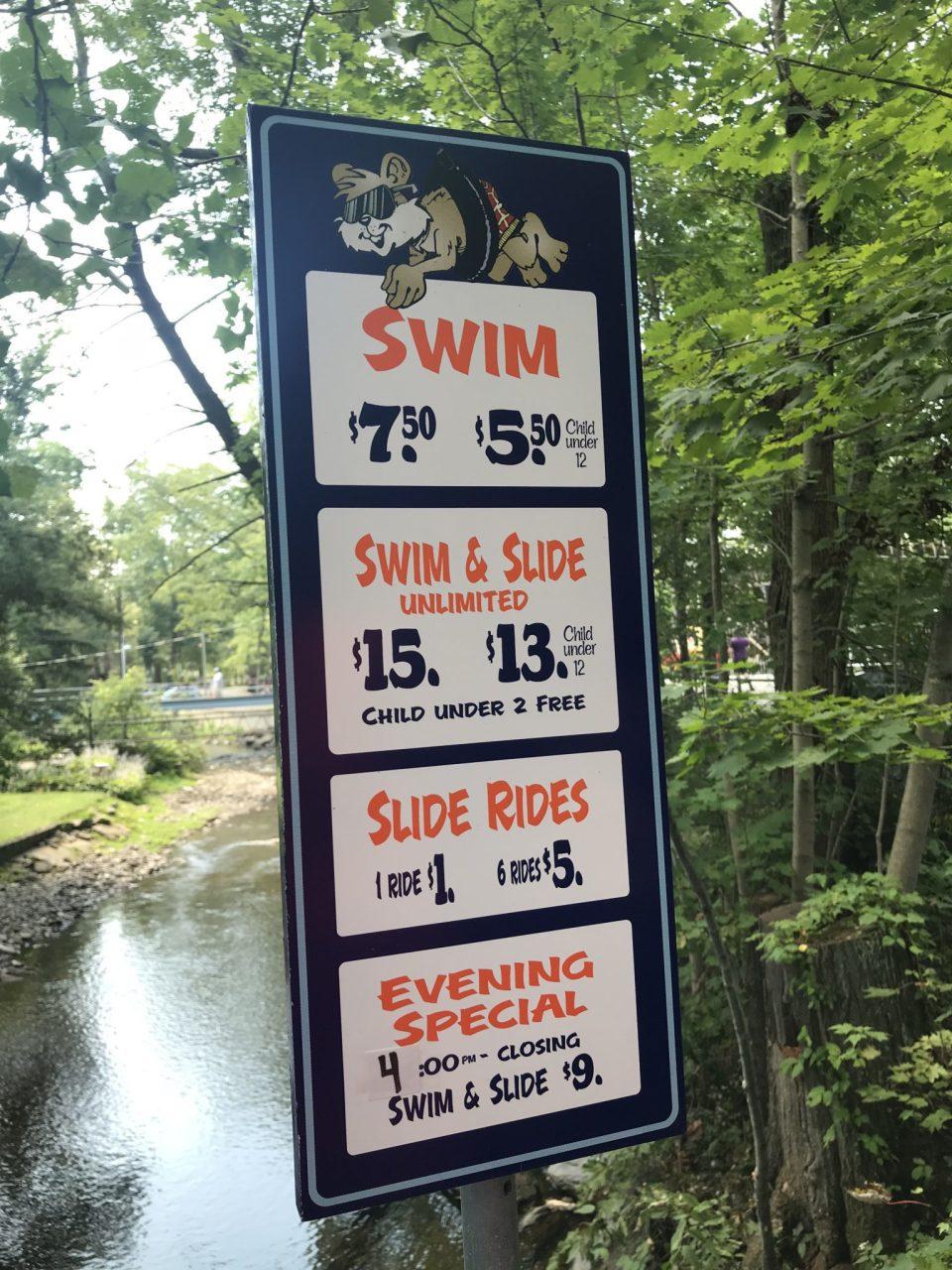 Knoebels Swim