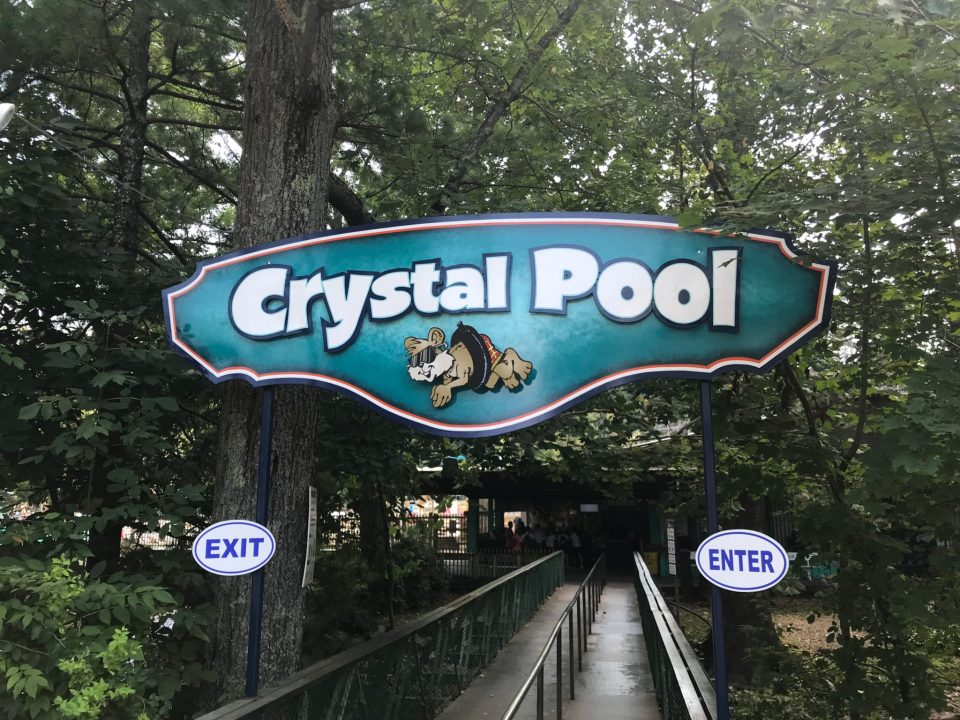 Knoebels Crystal Pool Enterance
