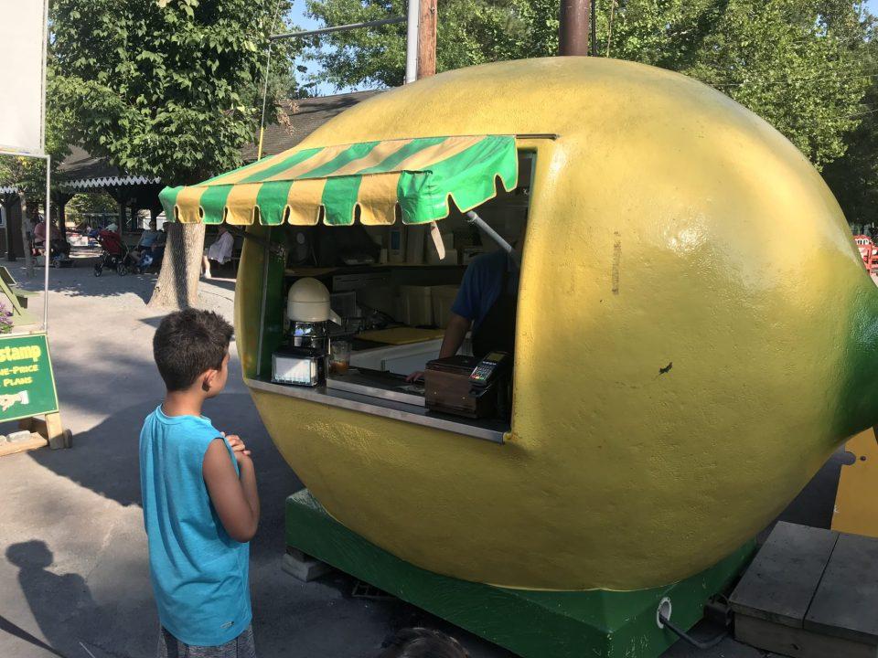 Lemonade at Knoebels
