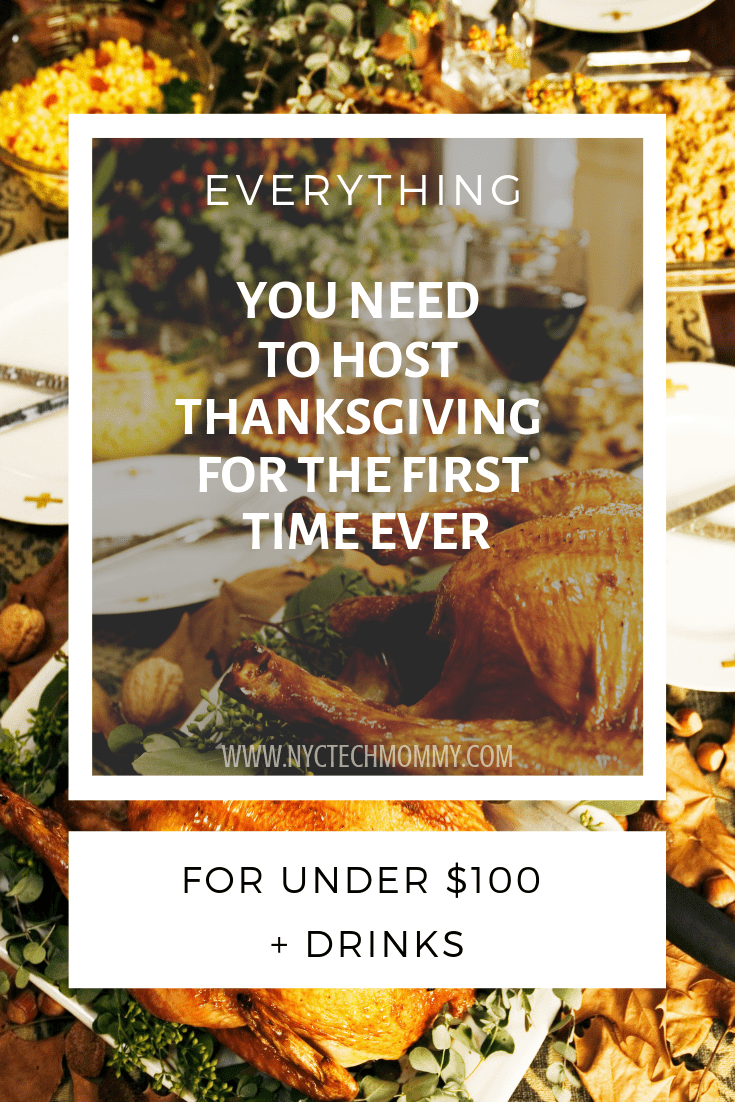 A complete guide to help you host #Thanksgiving for the first time ever!