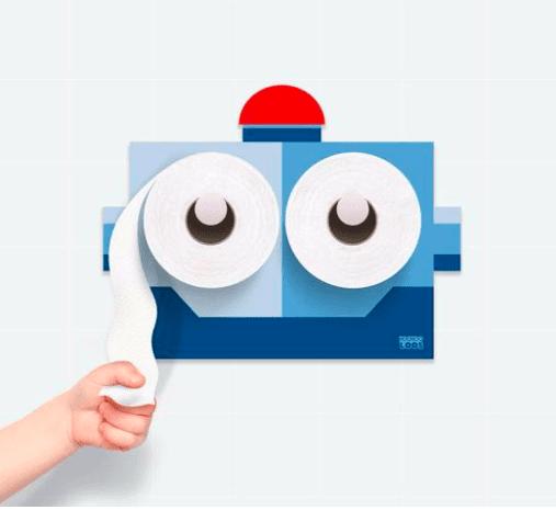 KooKooLoos - KooKooBot Potty Paper Holder