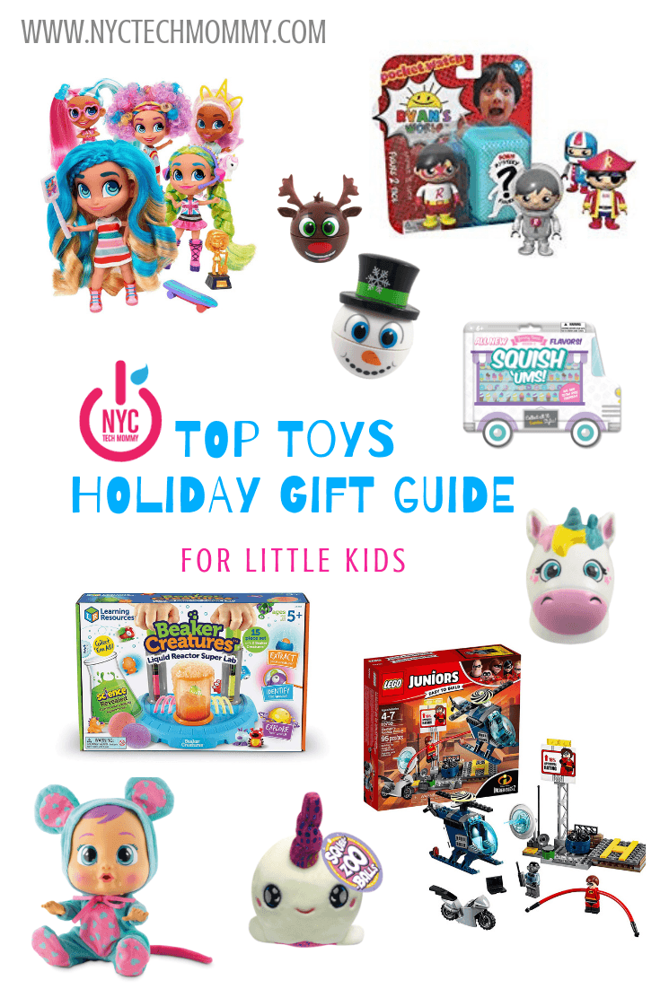 Top Toys Holiday Gift Guide for Little Kids + stocking stuffers your little kids are sure to love! #kidsgiftguide #toptoys