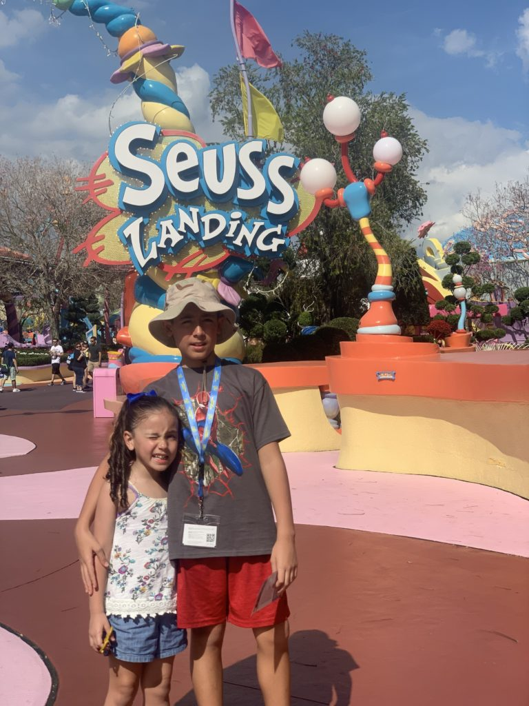 Oh the fun you'll have at Seuss Landing at Universal's Islands of Adventure - rides, play areas and more!