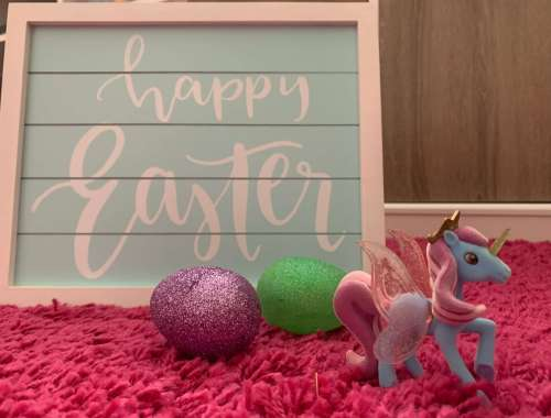 Unicorn Easter Basket Candy-Free Ideas