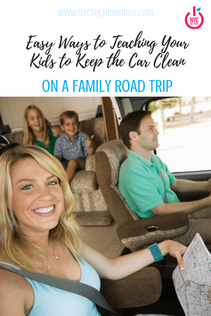 It's easy to keep the car clean on a family road trip. Here's how!  #roadtrip #familytravel #familyroadtrip