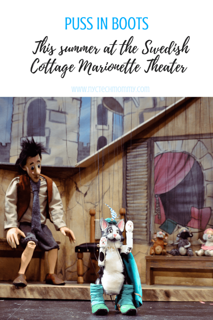 Puss in Boots is coming to the Swedish Cottage Marionette Theater in NYC this summer - here are all the details!  #nyc #nyckid #summertheater