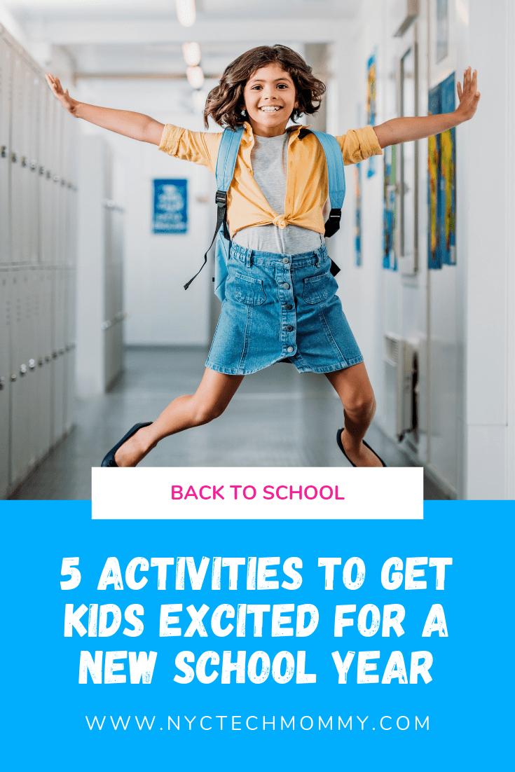 FUN Activities to get kids excited for a new school year #BacktoSchool