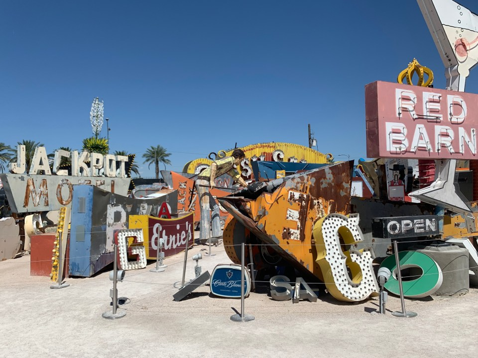 Take the kids to Las Vegas and check out the Neon Sign Museum
