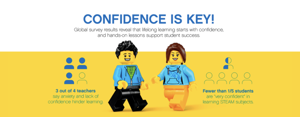 LEGO Education -- Great resource to help kids learn STEM and build confidence in learning.