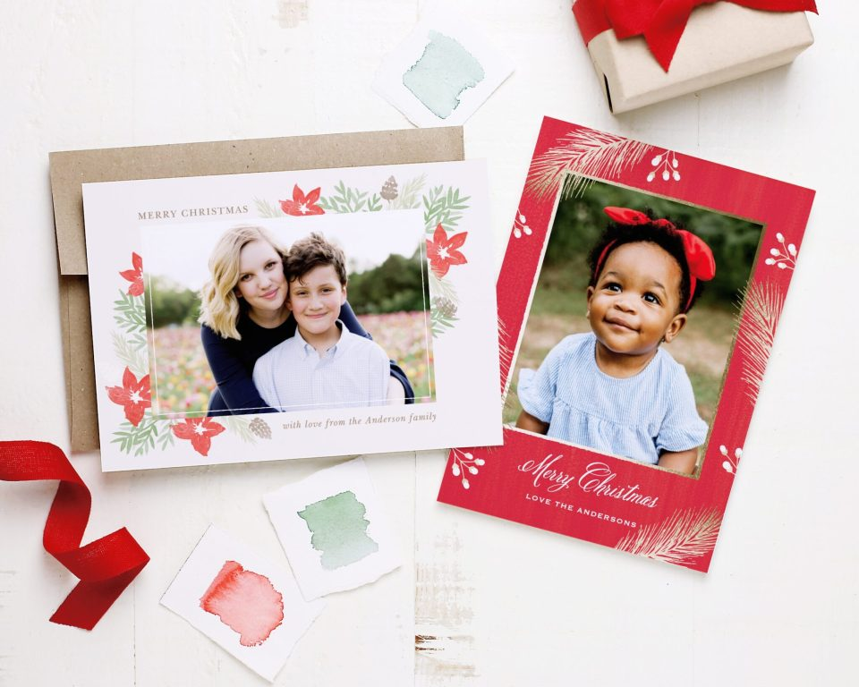 Here's how to create beautiful and easy holiday cards with Basic Invite