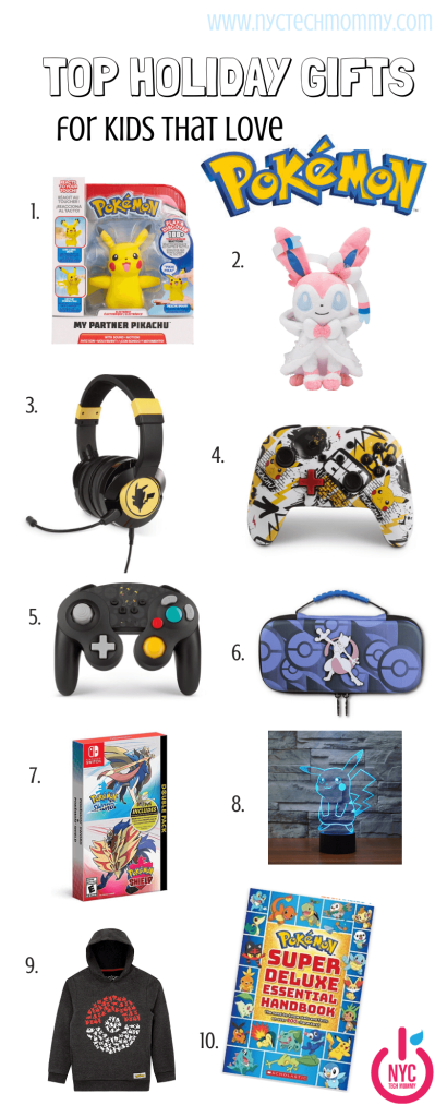 Great Pokémon gift ideas for kids of all ages